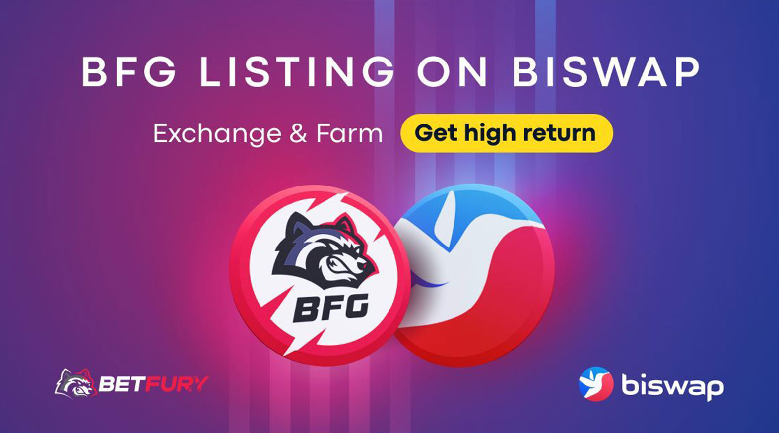 BFG Token auf Biswap gelistet